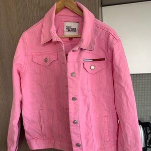 Woman's Pink Medium Tommy Hilfiger Jean jacket
